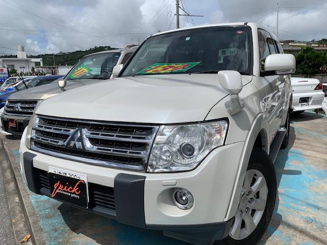 沖縄の中古車 三菱 パジェロ 車両価格 139万円 リ済込 2008(平成20)年 13.6万km パールM