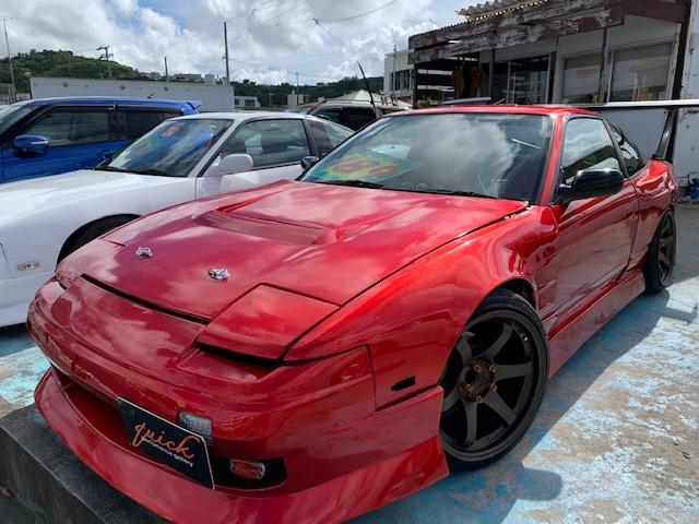 沖縄県中頭郡北中城村の中古車なら180SX タイプS改 SR20ターボ ワイドボディ 2名乗車