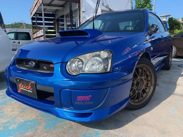 沖縄の中古車 スバル インプレッサ 車両価格 149万円 リ済込 2003(平成15)年 14.6万km ダークブルーM