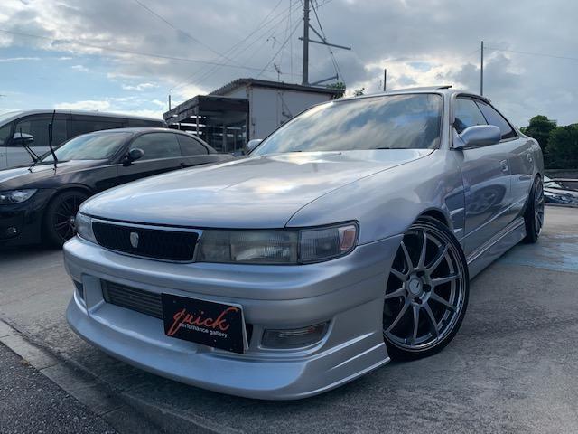 沖縄県の中古車ならチェイサー ツアラーV 純正5速、サンルーフ!