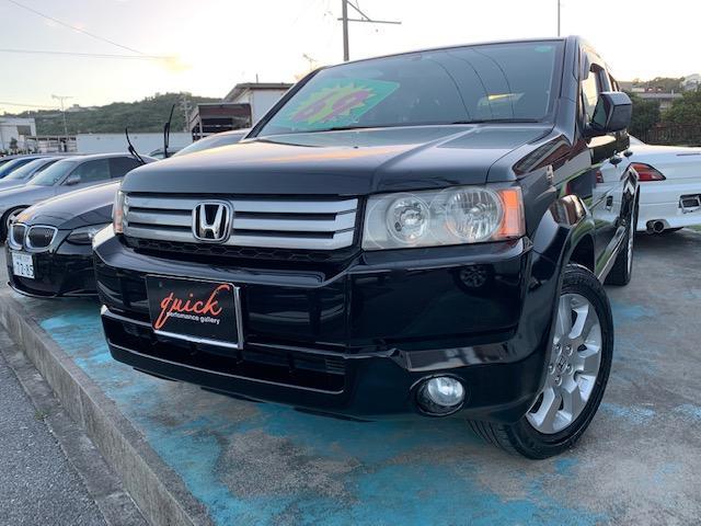 沖縄の中古車 ホンダ クロスロード 車両価格 69万円 リ済込 2009(平成21)年 12.5万km ブラックM