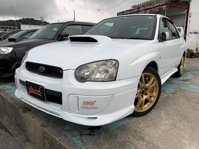 沖縄の中古車 スバル インプレッサ 車両価格 165万円 リ済込 2004(平成16)年 15.4万km ホワイト