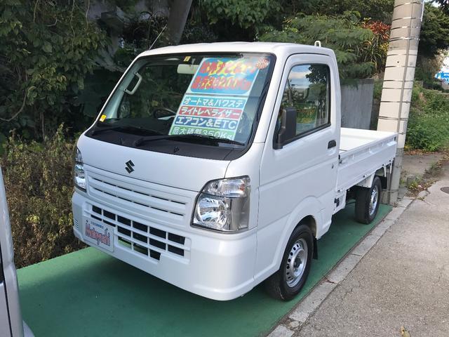 沖縄の中古車 スズキ キャリイトラック 車両価格 73万円 リ済込 平成26年 3.8万km ホワイト