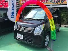 沖縄の中古車 スズキ ワゴンR 車両価格 69万円 リ済込 平成25年 6.7万K ブラック