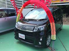 沖縄の中古車 スバル ステラ 車両価格 75万円 リ済込 平成25年 7.3万K ブラック