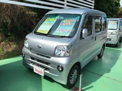 沖縄の中古車 ダイハツ ハイゼットカーゴ 車両価格 73万円 リ済込 平成24年 7.7万K シルバー
