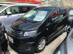 沖縄の中古車 ホンダ フリードスパイク 車両価格 79万円 リ済込 平成23年 7.1万K ブラック