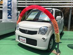 沖縄の中古車 日産 モコ 車両価格 74万円 リ済込 平成25年 6.2万K パールホワイト