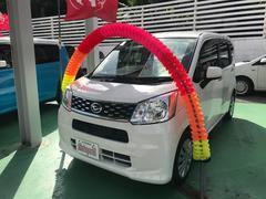 沖縄の中古車 ダイハツ ムーヴ 車両価格 83万円 リ済込 平成27年 7.6万K ホワイト
