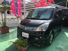 沖縄の中古車 スズキ ソリオ 車両価格 83万円 リ済込 平成24年 7.8万K ブルーイッシュブラックパール3
