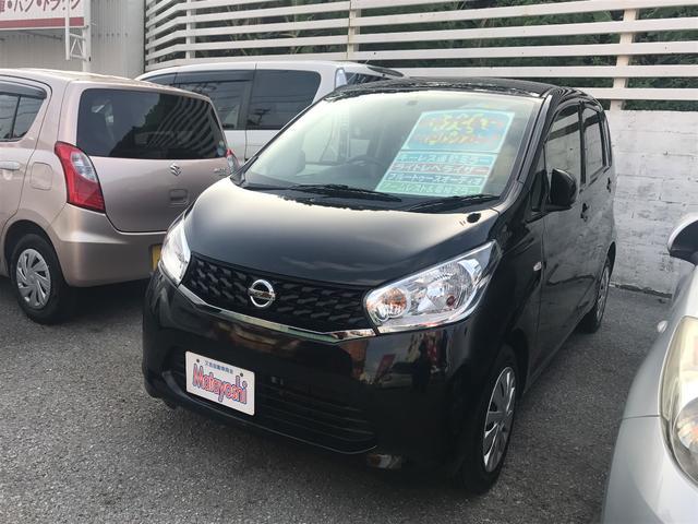 沖縄の中古車 日産 デイズ 車両価格 59万円 リ済込 平成25年 6.2万km ブラックP