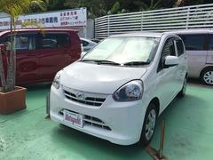 沖縄の中古車 ダイハツ ミライース 車両価格 33万円 リ済込 平成25年 9.0万K ホワイト