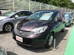 沖縄の中古車 日産 ノート 車両価格 59万円 リ済込 平成25年 6.5万K ダークパープル