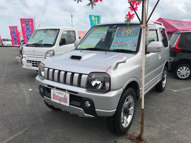 沖縄の中古車 スズキ ジムニー 車両価格 63万円 リ済込 平成15年 9.0万km シルバー