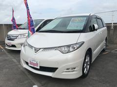 沖縄の中古車 トヨタ エスティマ 車両価格 78万円 リ済込 平成19年 7.6万K パール