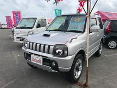 沖縄の中古車 スズキ ジムニー 車両価格 72万円 リ済込 平成15年 9.0万K シルバー