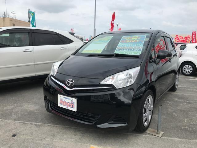 沖縄の中古車 トヨタ ラクティス 車両価格 73万円 リ済込 平成25年 6.8万km ブラック