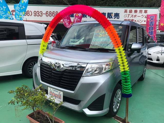 沖縄の中古車 トヨタ ルーミー 車両価格 119万円 リ済込 2016(平成28)年 5.8万km シルバー