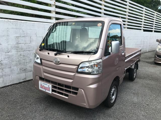 沖縄の中古車 ダイハツ ハイゼットトラック 車両価格 89万円 リ済込 平成26年 4.2万km ピンク
