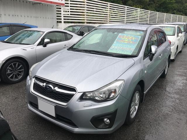 沖縄の中古車 スバル インプレッサスポーツ 車両価格 88万円 リ済込 平成24年 6.2万km シルバー