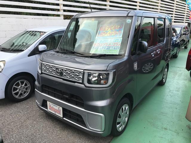 沖縄の中古車 トヨタ ピクシスメガ 車両価格 83万円 リ済込 2015(平成27)年 8.4万km グレー