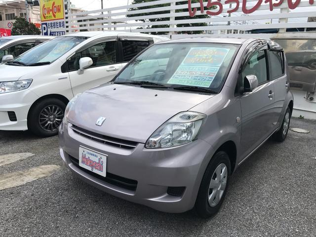沖縄の中古車 トヨタ パッソ 車両価格 29万円 リ済込 2009(平成21)年 3.9万km ライトパープル