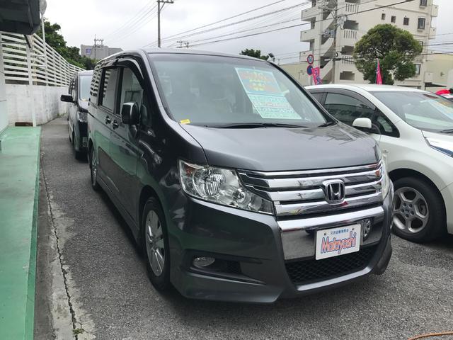 沖縄県の中古車ならステップワゴンスパーダ Z 純正HDDナビTV