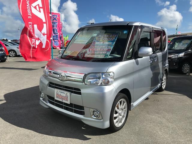 沖縄の中古車 ダイハツ タント 車両価格 74万円 リ済込 2013(平成25)年 6.3万km シルバー