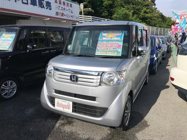 沖縄の中古車 ホンダ N-BOX 車両価格 89万円 リ済込 2013(平成25)年 4.4万km シルバー