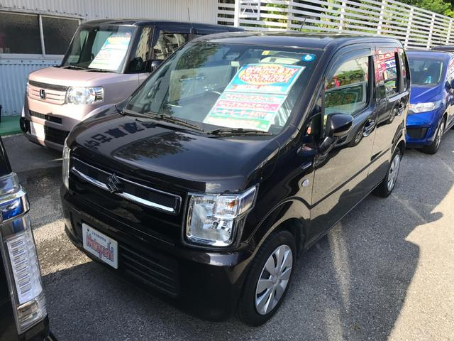 沖縄県の中古車ならワゴンR ハイブリッドFX セーフティPKG