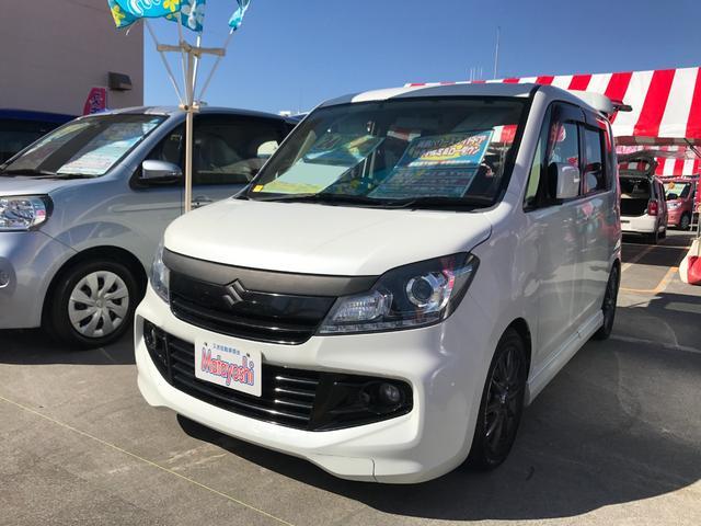 沖縄の中古車 スズキ ソリオバンディット 車両価格 79万円 リ済込 2012(平成24)年 8.0万km パール