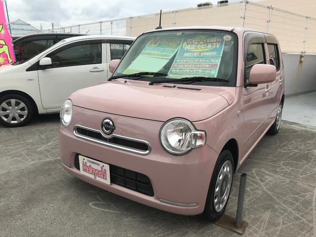 沖縄の中古車 ダイハツ ミラココア 車両価格 69万円 リ済込 2012(平成24)年 6.6万km ピンク