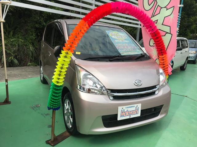 沖縄の中古車 ダイハツ ムーヴ 車両価格 56万円 リ済込 2012(平成24)年 7.0万km ピンク