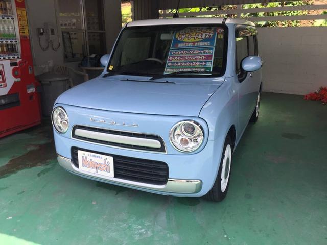 沖縄県の中古車ならアルトラパンショコラ X 社外ナビTV HID