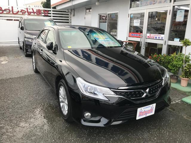 沖縄県の中古車ならマークX 250G 純正ナビTV