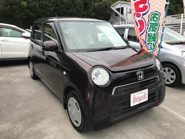 沖縄の中古車 ホンダ N-ONE 車両価格 79万円 リ済込 2013(平成25)年 3.7万km ブラウン