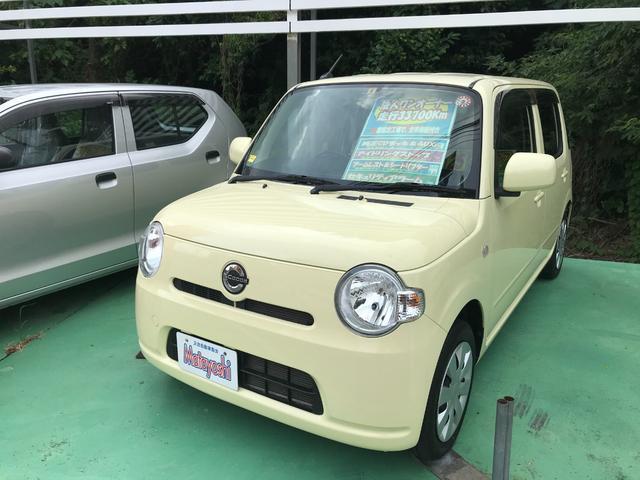 沖縄の中古車 ダイハツ ミラココア 車両価格 58万円 リ済込 2013(平成25)年 3.4万km イエロー