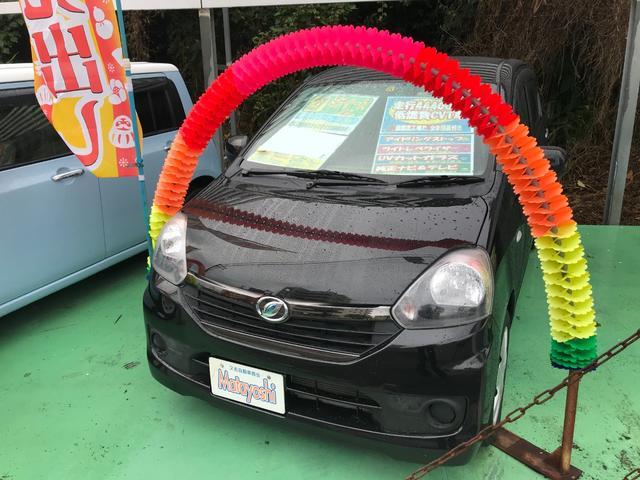 沖縄の中古車 ダイハツ ミライース 車両価格 43万円 リ済込 2015(平成27)年 4.4万km ブラックマイカメタリック