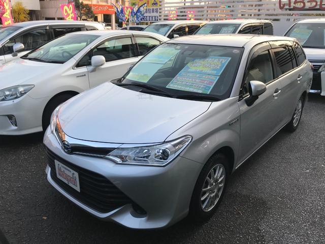 沖縄県の中古車ならカローラフィールダー ハイブリッド トヨタセーフティセンス 純正ナビTV