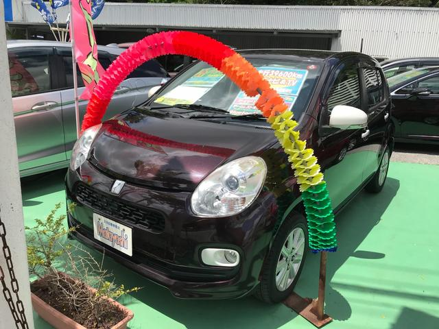 沖縄の中古車 トヨタ パッソ 車両価格 63万円 リ済込 2014(平成26)年 4.0万km アズキマイカ