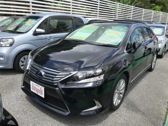 沖縄県の中古車ならHS HS250h バージョンI 純正ナビTV バックモニター
