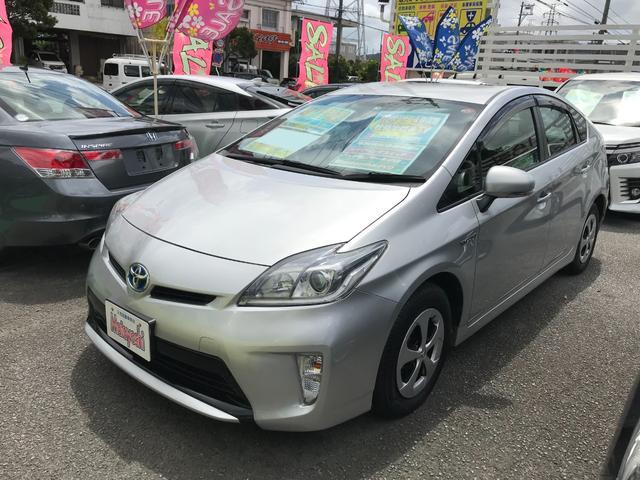 沖縄県の中古車ならプリウス S 社外ナビTV バックモニター