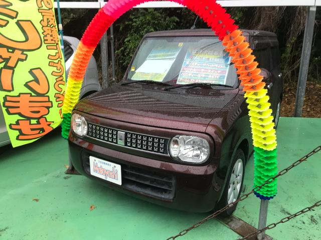 沖縄県の中古車ならアルトラパン 10thアニバーサリーリミテッド 純正ナビTV