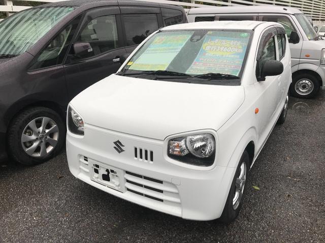 沖縄の中古車 スズキ アルト 車両価格 49万円 リ済込 2016(平成28)年 4.0万km スペリアホワイト