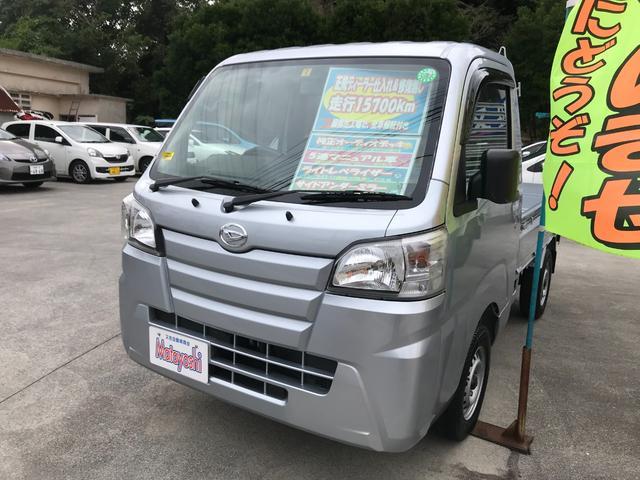 沖縄の中古車 ダイハツ ハイゼットトラック 車両価格 79万円 リ済込 2019年 1.6万km シルバー