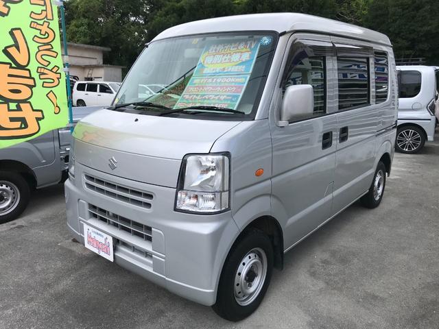 沖縄の中古車 スズキ エブリイ 車両価格 64万円 リ済込 2012(平成24)年 5.2万km シルバー