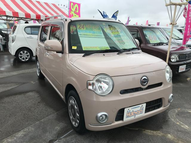 沖縄県の中古車ならミラココア ココアプラスX スマートキー