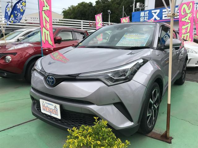 沖縄県沖縄市の中古車ならC-HR G トヨタセーフティセンス ブルートゥース コーナーセンサー