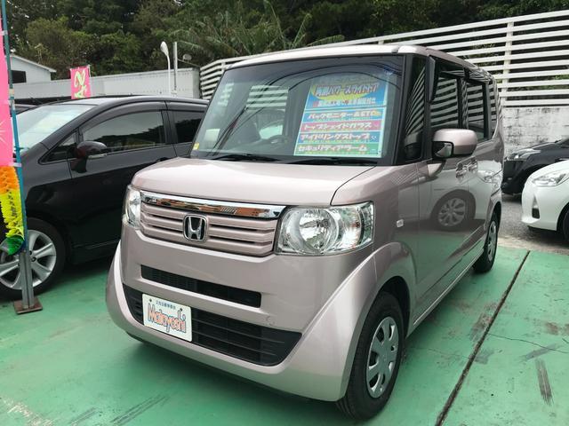 沖縄の中古車 ホンダ N-BOX 車両価格 78万円 リ済込 2012(平成24)年 6.3万km チェリーシェルピンクメタリック