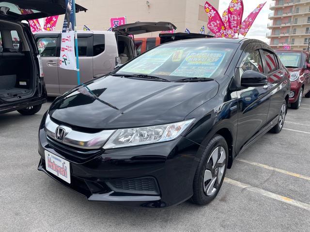 沖縄県沖縄市の中古車ならグレイス ハイブリッドLX 社外ナビTV バックモニター